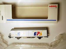 "SBB CFF Hbils-vy ""EPA"" CH freight car, Märklin Marklin #84735,21 1:87 H0 boxed!"