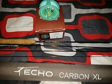 echo carbon Xl 2 wt with. A teal redington zero mint condition