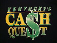 Kentucky's Cash Quest Lotto  Lottery Mega Million Vintage 50/50 T Shirt XL