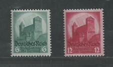 NAZI GERMANY # 442-443 MNH CONGRESS AT NUREMBERG