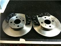 TOYOTA STARLET GLANZA EP82 FRONT BRAKE DISCS & PADS