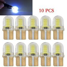 T10 194 168 W5W COB 8 SMD LED Canbus Silica Bright White License Light Bulbs
