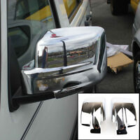 For Jeep Patriot Liberty Pair Chrome Door Side Mirror Cover Trim