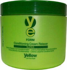 YELLOW FORM CONDITIONING CREAM RELAXER SUPER 500 G / 17.63 OZ