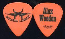 MIRANDA LAMBERT 2011 Tour Guitar Pick!! ALEX WEEDEN custom concert stage Pick #1