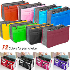 Handbag Insert Organizer Purse liner Women Ladies Makeup Organiser Bag Travel