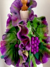 scarf Wool Felted Hand Made Art Womans