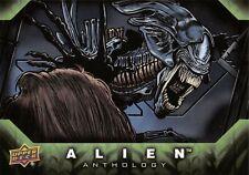 Alien Anthology (Upper Deck 2016) SILVER FOIL PARALLEL BASE Trading Card #47