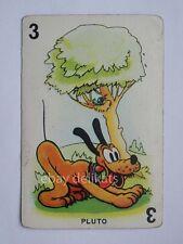 WALT DISNEY vintage 1930 figurina carta Modiano 3 PLUTO *