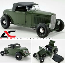 ACME A1805018 1:18 1932 FORD ROADSTER OLIVE DRAB GREEN