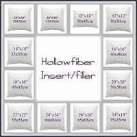 "Hotel Quality Hollowfibre Cushion Pads,Filler,Inners 12""14""16""18""20""22""24""26""28"""