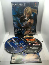 Death by Degrees - 2 Discs -Includes Tekken 5 Demo-Complete -Playstation 2 PS2
