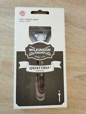Wilkinson Sword Quattro vintage Herrenrasierer NEUOVP