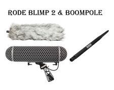 Rode Blimp 2 & Boompole Field Recording Bundle Blimp2 Boom Pole FEDEX 2-DAY SHIP