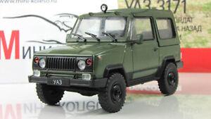 UAZ 3171 AutoLegends USSR 1981. Diecast Metal model 1:43. Deagostini. NEW. A