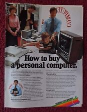 1979 Print Ad APPLE Personal Computer ~ How to Buy A Computer COMPUTERLAND