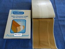 2 X BAND AID FABRIC DRESSING STRIPS LARGER 7.5CM X 1M /BOXED/ NON STICK PAD