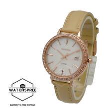 Casio Sheen Swarovski Crystals 3-hand Analog Watch SHE4052PGL-7B