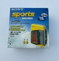 SONY SPORTS WM-FS397 WALKMAN RADIO Cassette Player - Water Resistant - New!