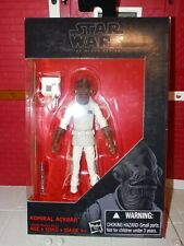 "Star Wars Admiral Ackbar Action Figure 3.75"" The Black Series C0664 SEALED"