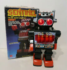 Kamco Sentinel Robot à Piles 30 Cm Battery Operated Hong Kong Neuf + Boite