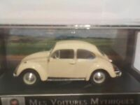 VW Beetle 1200 - off white (Cream), Model Car. ixo