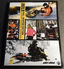 2013 SKI-DOO SNOWMOBILE CLOTHING & ACCESSORIES CATALOG NEW 160+ PAGES   (779)