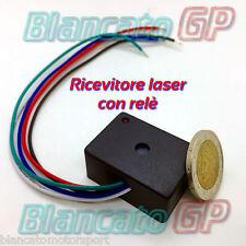 RICEVITORE LASER 5V 12V DC CON RELÈ 3A - LASER RECEIVER MODULE RELAY - RECEPTOR