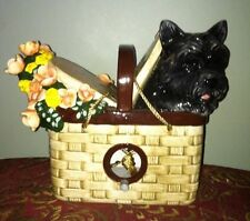 "Wizard of Oz Birdhouse ""Toto In A Basket"" BNIB"
