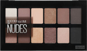 MAYBELLINE The Nudes Eyeshadow Palette 9.6g SEALED