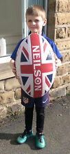 More details for new neilson legend union jack rugby needs you lord kitchener jumbo rugby ball