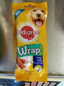 Pedigree Wrap Dog Treats with Chicken - 50g CLEARANCE CHEAP