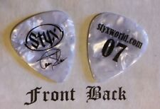 STYX - TOMMY SHAW band signature logo guitar pick -(w1)