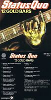"""Status Quo """"12 Gold Bars"""" Best of con doce Top Hits aus den 70ern! Nuevo CD"""