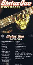 """Status Quo """"12 Gold Bars""""  Best of mit zwölf Top-Hits aus den 70ern! Neue CD!"""