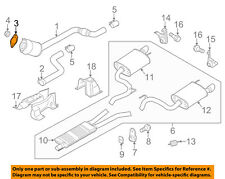 FORD OEM 11-16 Mustang 5.0L-V8 Exhaust-Catalytic Converter Gasket BR3Z5B266A