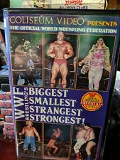 WWF BIGGEST SMALLEST STRANGEST STRONGEST wrestling COLISEUM VIDEO vhs non-rental