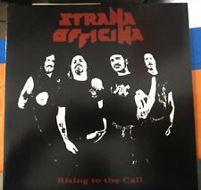 Strana Officina ‎– Rising To The Call Lp 2010 Jolly Roger n. 142/750 Black Vinyl