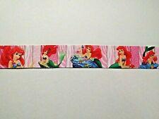 Ariel-Sirena-Cinta del Grosgrain-arcos del pelo etc. de 25 mm de ancho. 5 metros de 2.49 £