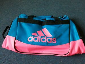 Adidas pink and blue small sports gym duffel bag - Brand new with tags