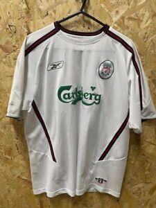 Original 2003/04 Liverpool Reebok Away Shirt 7 Harry Kewell Size 42/44 White