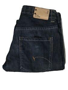 G-STAR Raw Denim Originals Jeans 3301 Men's   Size W31 L32   Dark Blue