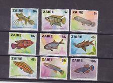 zaire 1978 Sc 862/70 fish,set MNH        n784