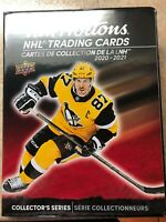 20-21 Upper Deck Tim Hortons Complete Master Set with Trios (270 cards+Binder)