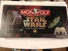 Monopoly Star Wars Limited Collectors Edition Complete 1996