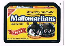 2006 Topps Wacky Packages Series 4 Mallomartians Trading Card 11 ANS4