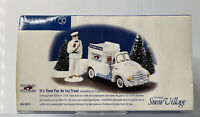 Department 56 IT'S TIME FOR AN ICY TREAT Snow Village Good Humor Truck Ice Cream