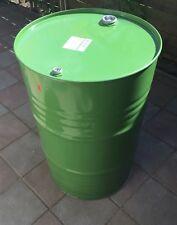 Metallfass 200 Liter Spund Smoker Stahlfass Ölfass Feuertonne Behälter 200L