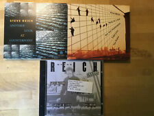 Steve Reich [4 CD Alben] Another Look Counterpoint + Early + Drumming + Bang Can