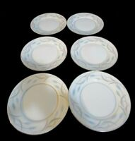 Valmont Royal Wheat Set of 6 Bread & Butter Plates Made in Japan Fine China 6.5""